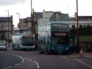 Public Transport New Brighton - Marine Point Wirral Bus