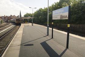 Public Transport New Brighton - Marine Point Wirral train